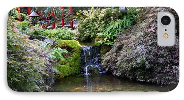 Tranquility In A Japanese Garden IPhone Case