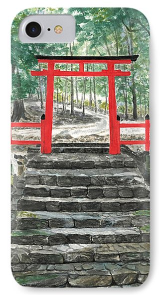 Tranquility Torii IPhone Case