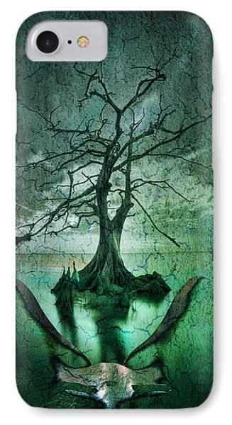 Tranquility Tree IPhone Case by Greg Sharpe