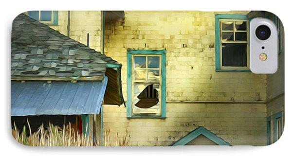 Tranquille Sanatorium IPhone Case by Theresa Tahara
