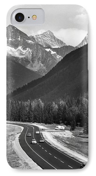 Trans-canada Highway IPhone Case by Underwood Archives