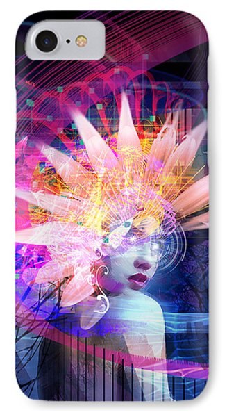 Transcendance IPhone Case by Philip Straub