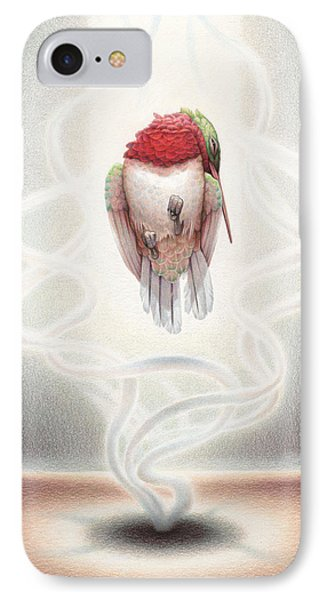 Transcendent Flight Phone Case by Amy S Turner