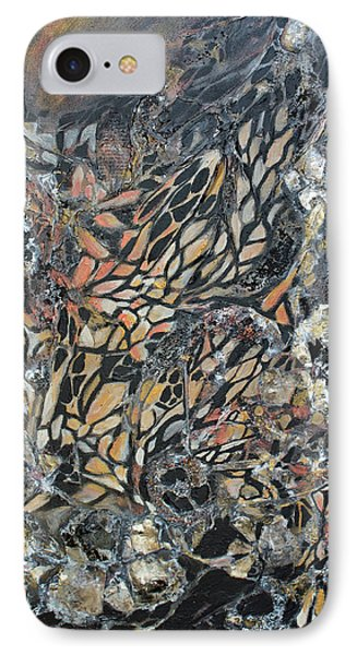 IPhone Case featuring the mixed media Transformation by Joanne Smoley