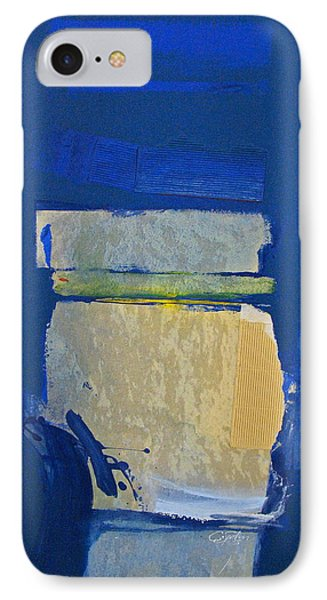 Transition 5 Slabs Phone Case by Cliff Spohn
