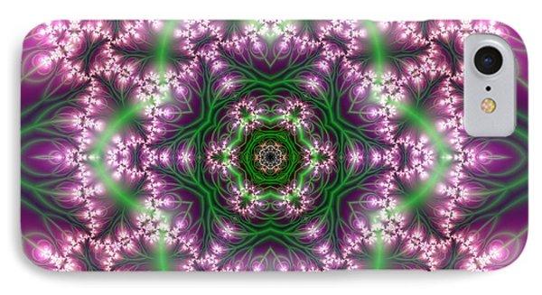 IPhone Case featuring the digital art Transition Flower 6 Beats 4 by Robert Thalmeier