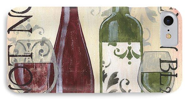 Transitional Wine 1 IPhone Case by Debbie DeWitt