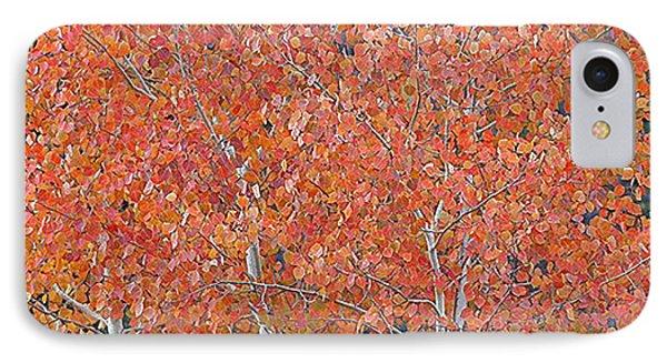 Translucent Aspen Orange IPhone Case by Gary Baird