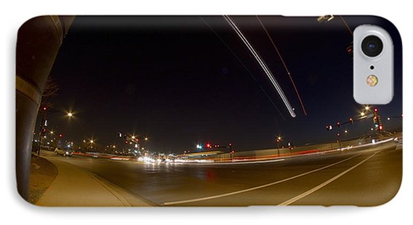 Transportation Lights IPhone Case by Sven Brogren