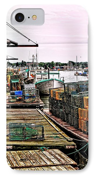 Traps Portland Maine IPhone Case by Tom Prendergast