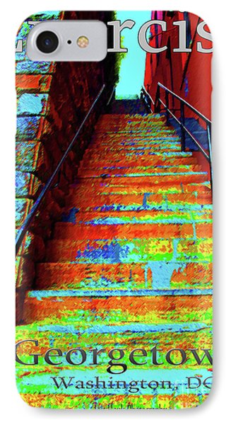 Travel-exorcist Steps Phone Case by Jost Houk