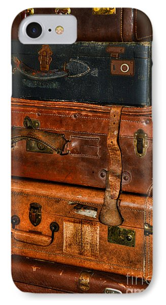 Travel - Old Bags Phone Case by Paul Ward