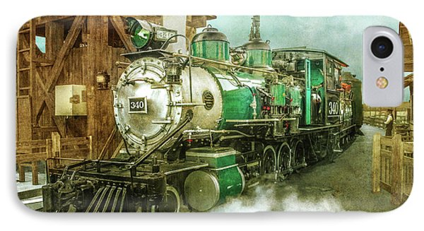 Traveling By Train IPhone Case by Claudia Ellis