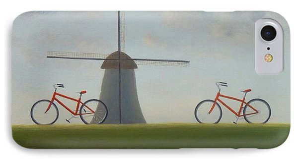 Traveling In Holland IPhone Case