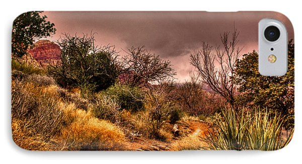 Traveling The Trail At Red Rocks Canyon IPhone 7 Case
