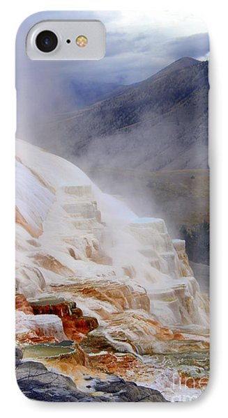 IPhone Case featuring the photograph Travertine Terracce by Irina Hays