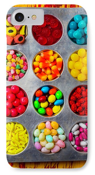 Tray Full Of Candy IPhone Case by Garry Gay
