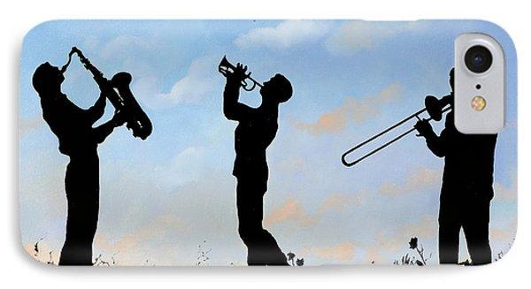 Trumpet iPhone 7 Case - tre by Guido Borelli