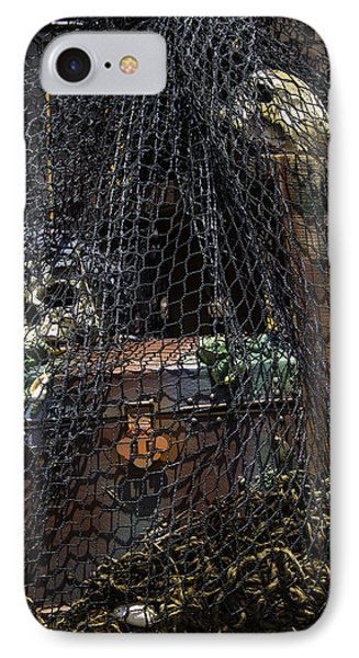 Treasure Chest In Net IPhone Case by Garry Gay