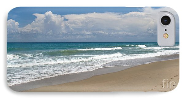 Treasure Coast Beach Florida Seascape C4 Phone Case by Ricardos Creations