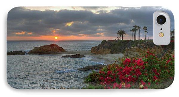 IPhone Case featuring the photograph Treasure Island Beach Shoreline by Eddie Yerkish