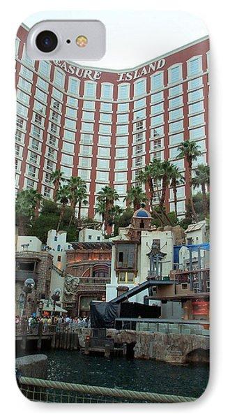 Treasure Island Hotel And Casino Las Vegas Nevada Phone Case by Alan Espasandin