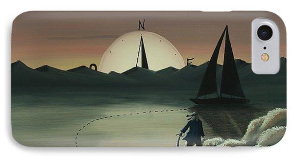 Treasure Path IPhone Case by Edwin Alverio