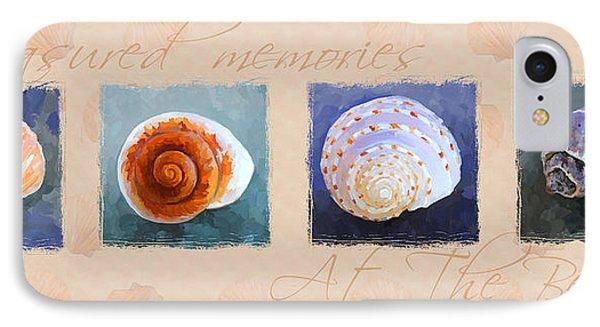 Treasured Memories Sea Shell Collection Phone Case by Jai Johnson