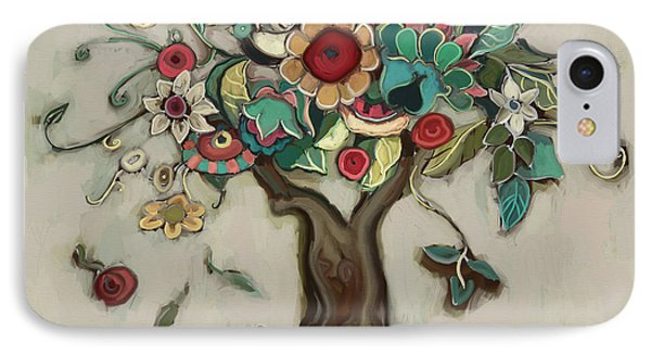 Tree And Plenty IPhone Case by Carrie Joy Byrnes