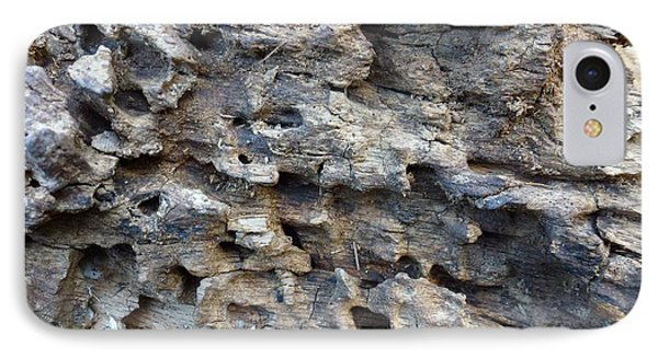 IPhone Case featuring the photograph Tree Bark 1 by Jean Bernard Roussilhe