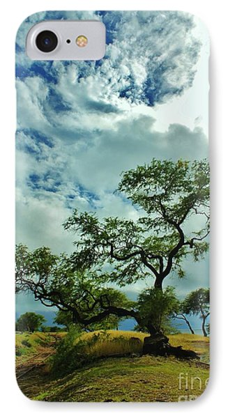 Tree Beside The Tracks IPhone Case
