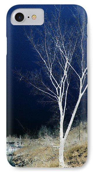 IPhone Case featuring the photograph Tree By Stream by Stuart Turnbull