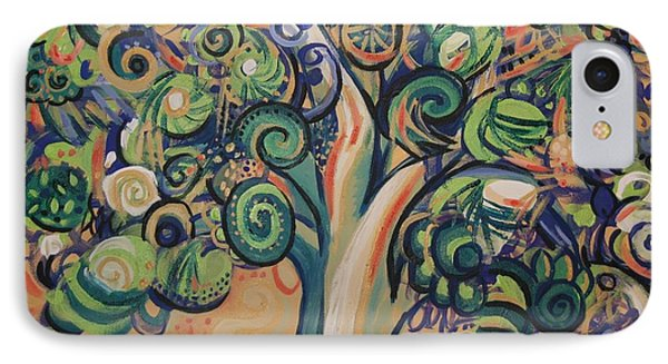 Tree Candy Phone Case by Genevieve Esson