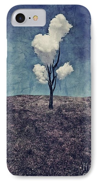 Landscapes iPhone 7 Case - Tree Clouds 01d2 by Aimelle