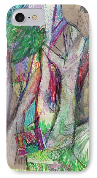 Tree Collage Phone Case by Ruth Renshaw