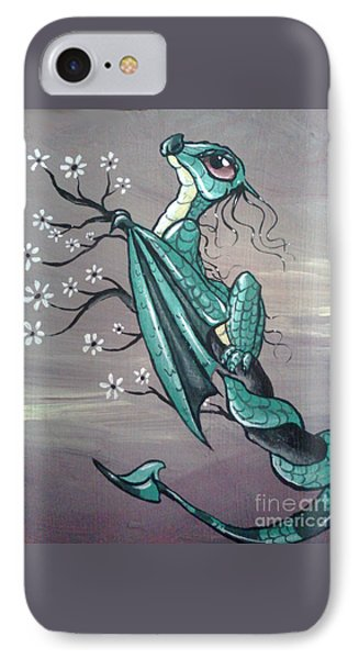 Tree Dragon II IPhone Case