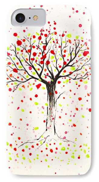 Tree Explosion IPhone Case