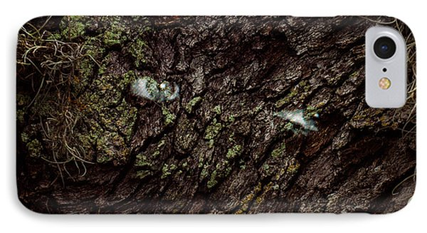 IPhone Case featuring the photograph Tree Eyes by Randy Sylvia