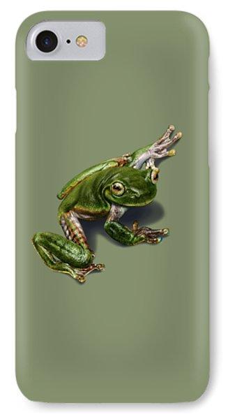 Tree Frog  Phone Case by Owen Bell
