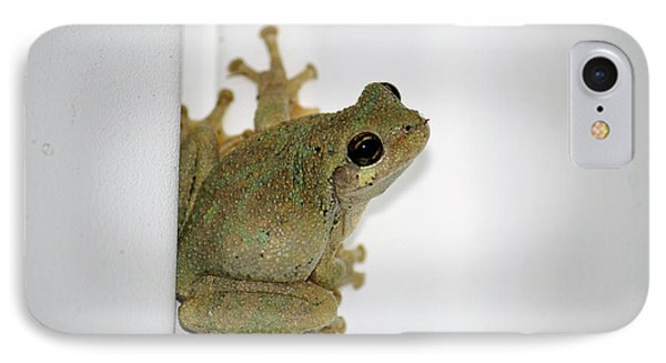 Spring Peeper IPhone Case by Tammy Goad