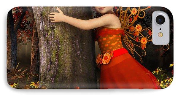 Tree Hug IPhone Case by Jutta Maria Pusl