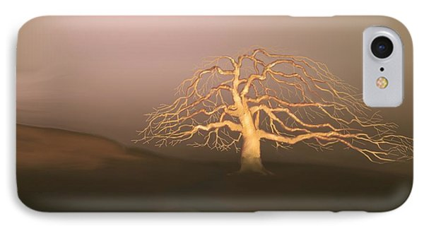 Tree In Winter I IPhone Case by Kerry Beverly