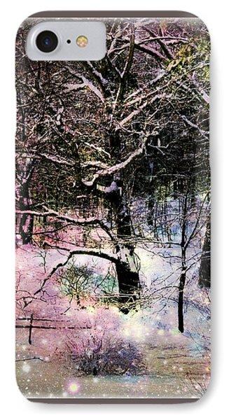 Tree In Winter IPhone Case by Robin Regan
