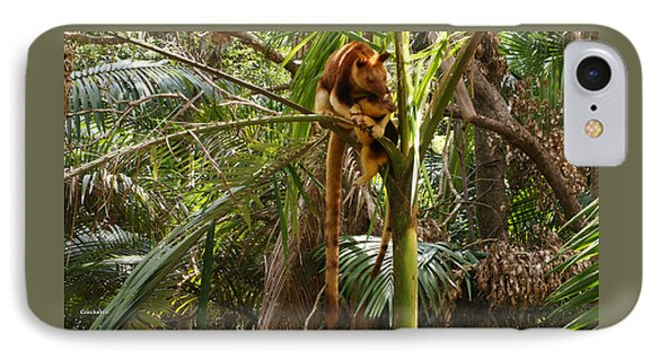 Tree Kangaroo 2 IPhone Case