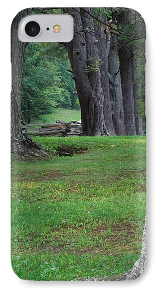 Tree Line IPhone Case by Eric Liller