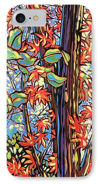 Tree Long Phone Case by Nadi Spencer