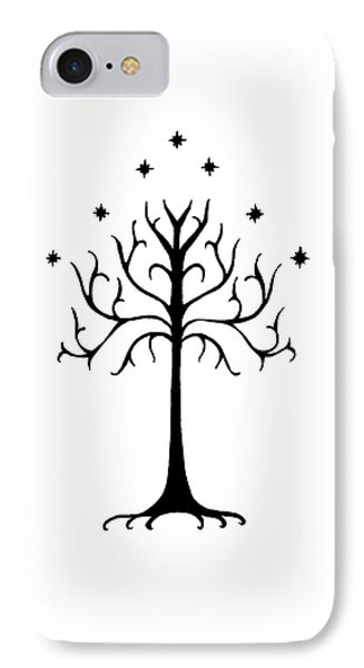 Tree Of Gondor Crest Phone Case by Kayleigh Semeniuk