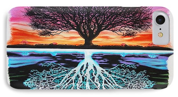 Tree Of Life And Negative IPhone Case