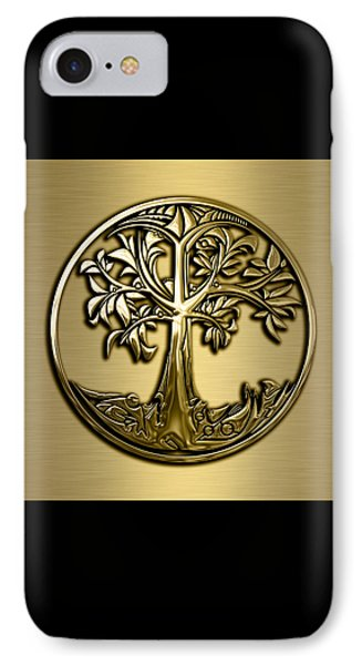 Tree Of Life Collection IPhone Case by Marvin Blaine