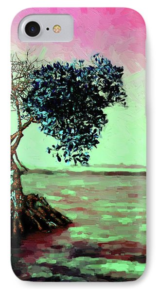 Tree Of Life - Crimson Tide IPhone Case